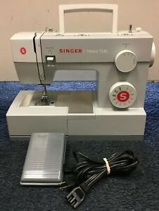 Singer Heavy Duty Sewing Machine 4411 with Pedal in Factory Box Read $110.00