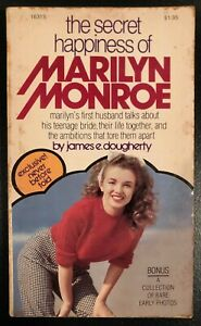 The Secret Happiness of Marilyn Monroe by James E. Dougherty 1976 Paperback