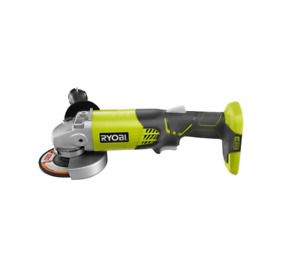 RYOBI 18 Volt ONE Cordless 4 1 2 in. Angle Grinder Tool Only $45.19