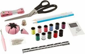 NEW 130 Pieces Beginners Basic Sewing Kit With A Reusable Storage Box By Singer $12.00