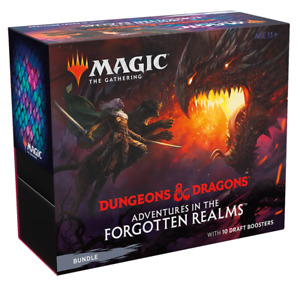 Adventures in the Forgotten Realms Bundle Fat Pack MTG Ships Now
