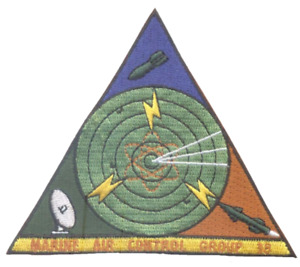 4quot; USMC MARINE CORPS MAGC 38 LOGO MILITARY TRIANGLE EMBROIDERED PATCH $24.99