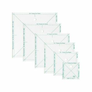 The Complete Fussy Ruler Set 6 Pack Square Rulers Quilt In A Day $29.97