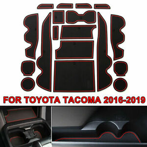 18x Cup Door Center Console Liner Mat Trim Accessory For Toyota Tacoma 16 19 AS $20.99