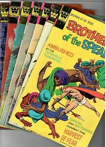 Whitman 7 Book Lot Brothers of the Spear Mighty Samson Tragg Lost in Space VG
