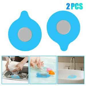 Silicone Floor Drain Plug Cover Kitchen Bath Tub Sink Rubber Water Stopper