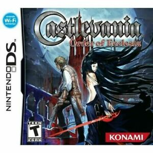 Castlevania: Order of Ecclesia DS 2008 GAME CARTRIDGE ONLY RPG ROLE PLAYING $22.99