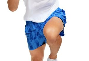 Under Armour Mens Shorts Blue Size 2XL Abstract UA Launch SW 7 Athletic $40 #066 $29.99