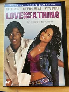 Love Dont Cost a Thing DVD 2004 Full Screen $4.50