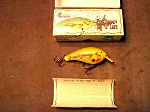 Cotton Cordell Fred Young#x27;s Big quot;Oquot; Lure 25th Anniversary 1967 1992 Nib Clean