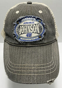 Jimmie Johnson Lowes 48 Hat Cap Nascar Chase Authentic Snapback mesh $11.99