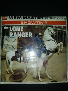 The LONE RANGER TV Show Vintage View Master Reel Pack B465 FACTORY SEALED 1956 $35.00