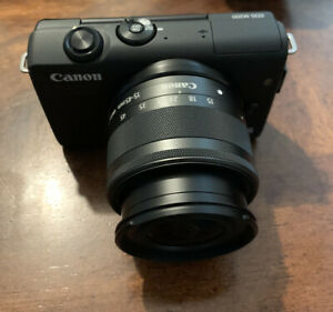 Canon EOS M200 with EF M 15 45mm Lens Great Vlog Camera Black