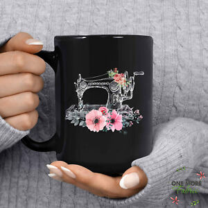 Sewing Mug Love Sewing Mug Sewing Gift Love Sewing Sewing Gift Women Funny $13.99