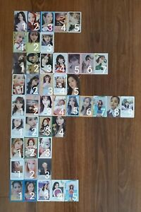 TWICE Official Album Photocards US ONLY $6.00