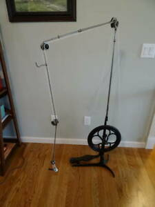 Antique Cast Iron Working Foot Operated Pedal Dentist Drill Treadle Machine SWS $650.00