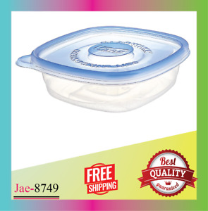 Glad Entree Plastic Square Containers Lids 25 Ounce 5 Count Pack of 1 NEW $10.37