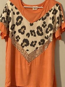bibi top Size XLCoral in Color