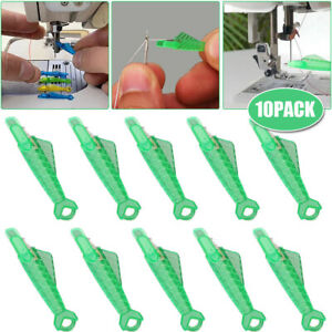 10Pcs Sewing Machine Needle Threader Self Threading Quick Sewing Needle Changer $5.39