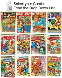 Fantastic Four Marvel Comic Book Collection #100 200 — U Pick Your Choice $11.95