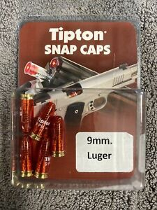 Tipton Snap Caps 9mm Luger Precision Metal Base Snap Cap Pack of 5 303958 $16.00
