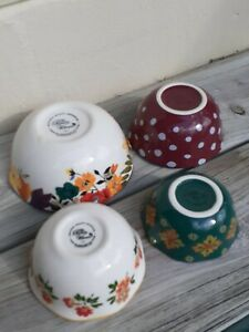 The Pioneer Woman Floral Nesting Measuring Bowl Set 4 piece NWOT