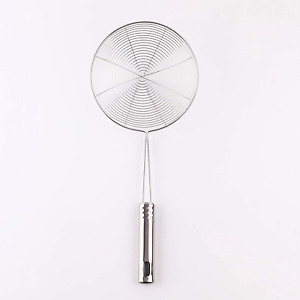 14 Inch Stainless Steel Spider Strainer Skimmer Ladle With Handle Kitchen Tools