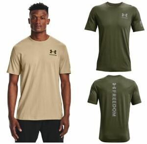 Under Armour 1370821 Mens Athletic UA Tac Freedom Spine T Shirt Short Sleeve Tee $23.45