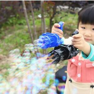 Bubble Gun Kids Machine Toys Automatic Outdoor Toy Blower Summer Soap Water NEW AU $17.00