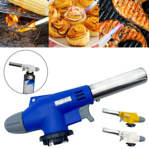 Refillable Kitchen COOKING TORCH Culinary Burner Creme Brulee Blowtorch NEW