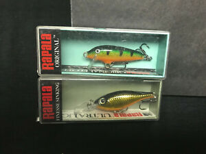 2 New in box quot; RAPALA Lures quot; F 3 Floater amp; ULS 4 Sinker fishing lure