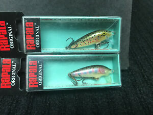 2 New in box quot; RAPALA Lures quot; F 3 Floaters KILLER fishing lures