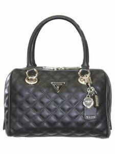 Guess Women#x27;s Cessily Quilted Box Satchel Handbag $110.00