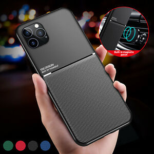 Hybrid Magnetic Leather Case For iPhone 13 12 Pro Max 11 XS XR 8 7 X Heavy Duty $6.95