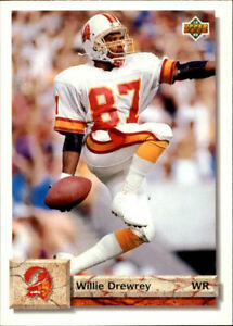1992 Upper Deck Football quot;Main Setquot; Cards #501 to #620 Rookies and Veterans $0.99