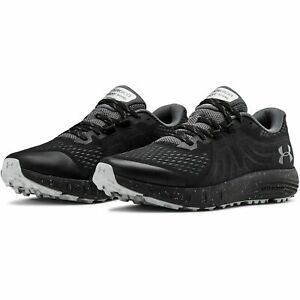 Under Armour 3021951 Mens Black UA Charged Bandit Trail Hiking Shoes Size 9 $47.99