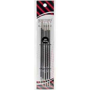 Karbonz Double Pointed Needles 6quot; Size 0 2mm 499995158191 $13.42