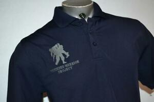 26024 a Mens Under Armour Golf Polo Shirt Wounded Warrior Project Size Medium $25.99