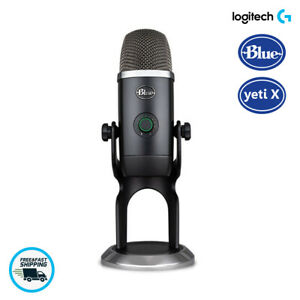 Blue Yeti X Professional Condenser USB MicrophoneHigh Res Metering for PC amp; Mac