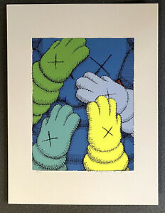 KAWS #x27;URGE#x27; Print Signed and Numbered $12000.00