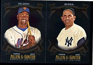 2021 TOPPS ALLEN GINTER X SHORT PRINTS SP YOU PICK TO COMPLETE YOUR SET $1.49