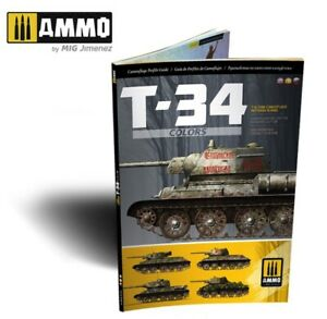 AMMO of Mig Jimenez T 34 Colors. T 34 Tank Camouflage Patterns in WWII AMIG6145