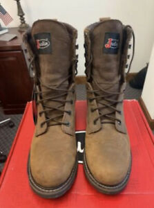 Justin Work Boots Wyoming WP Men's size 12 boots