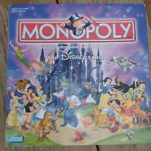 Disney Edition Monopoly 2001 Parker Brothers HasbroBoard game pre owned $21.00