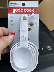 Good Cook Measuring Cup Set Plastic White