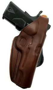 Right Hand Leather Rotating Paddle Thumb Break Holster for ANY NONRAIL 5quot; 1911 $54.00