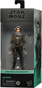 Star Wars The Black Series 6quot; Action Figure Rogue One Wave Jyn Erso IN STOCK $28.59
