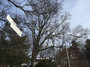 Large Wind Sculpture Abstract Art Immobile Free Flying Stainless