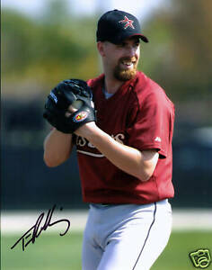 Tim Redding signed autographed Houston Astros 8 X 10