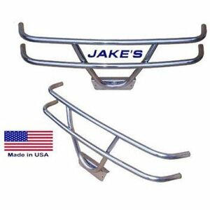 Club Car 1981'-up  DS JAKE'S 6288 Brush Guard Stainless Steel